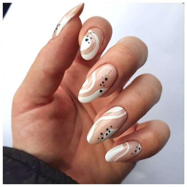 white nails, white nail ideas, white nail designs, white nails acrylic, whit nails with designs, white nail ideas acrylic, white nail polish, abstract nail designs, abstract nails