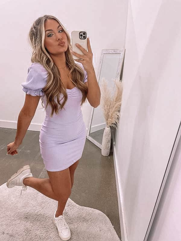 summer outfit, summer dresses, summer dress, summer dress outfits, summer dresses for women, summer dresses 2021, summer dresses for women, summer outfit inspiration, summer outfits 2021, lavender dress