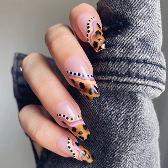 vacation nails, vacation nails acrylic, vacation nails simple, vacation nails 2021, beach nails, beachy nails, beach nails vacation, beach nail designs, leopard nails