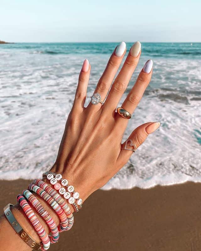 vacation nails, vacation nails acrylic, vacation nails simple, vacation nails 2021, beach nails, beachy nails, beach nails vacation, beach nail designs, pastel nails, pastel nail designs