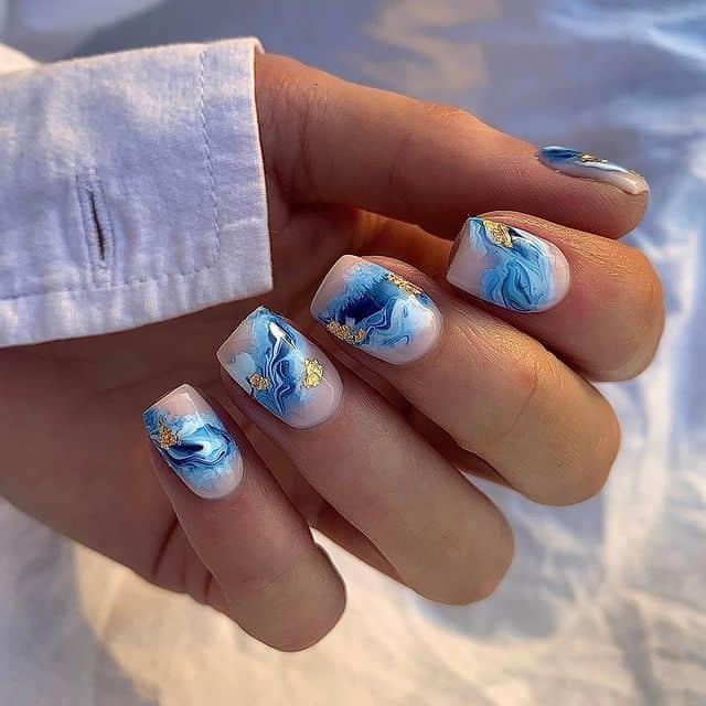 vacation nails, vacation nails acrylic, vacation nails simple, vacation nails 2021, beach nails, beachy nails, beach nails vacation, beach nail designs, marble nails, blue nails