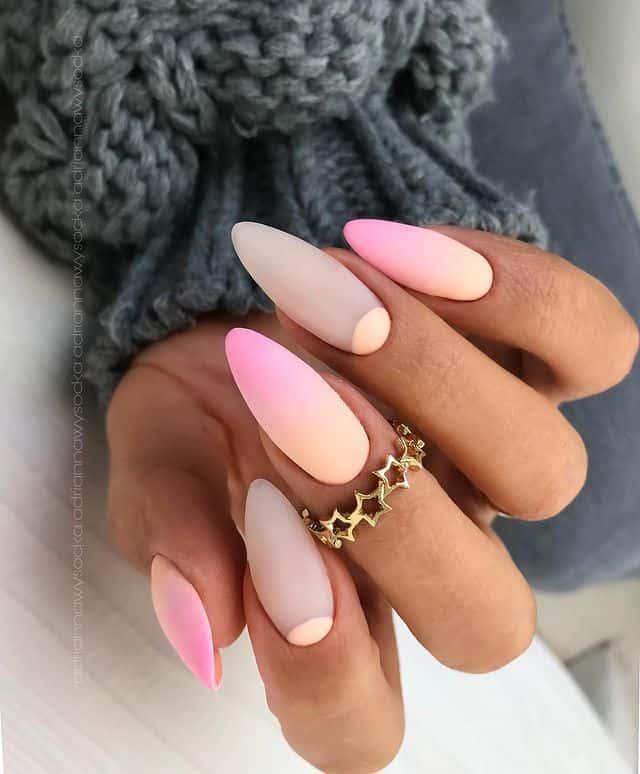 vacation nails, vacation nails acrylic, vacation nails simple, vacation nails 2021, beach nails, beachy nails, beach nails vacation, beach nail designs, matte nails, ombre nails