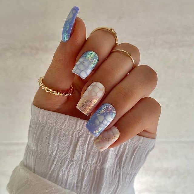 vacation nails, vacation nails acrylic, vacation nails simple, vacation nails 2021, beach nails, beachy nails, beach nails vacation, beach nail designs, mermaid nails, glitter nails