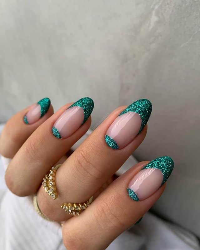 vacation nails, vacation nails acrylic, vacation nails simple, vacation nails 2021, beach nails, beachy nails, beach nails vacation, beach nail designs, glitter nails, French tip nails