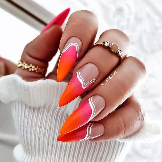 vacation nails, vacation nails acrylic, vacation nails simple, vacation nails 2021, beach nails, beachy nails, beach nails vacation, beach nail designs, bright nails, pink nails