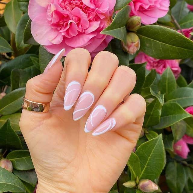 xvacation nails, vacation nails acrylic, vacation nails simple, vacation nails 2021, beach nails, beachy nails, beach nails vacation, beach nail designs, swirl nails, white nails, summer nails