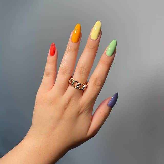 vacation nails, vacation nails acrylic, vacation nails simple, vacation nails 2021, beach nails, beachy nails, beach nails vacation, beach nail designs, rainbow nails
