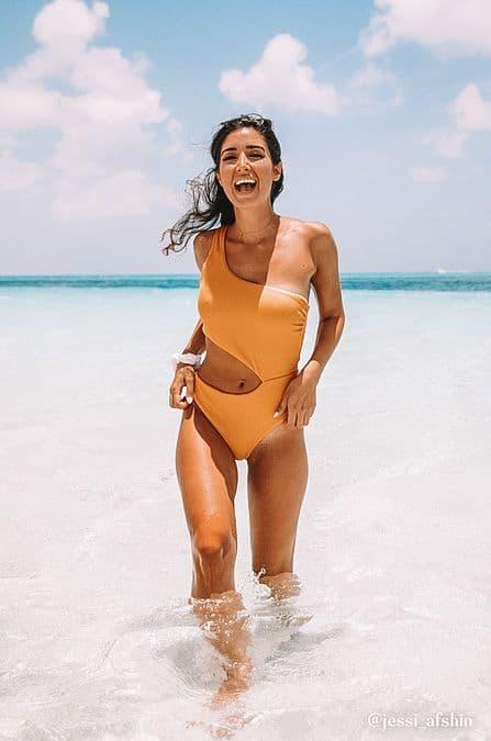 summer swimwear, summer swimsuit outfits, summer swim, summer swimwear aesthetic, summer swimsuit outfits, summer swimsuits 2021, orange swimsuit, orange one piece