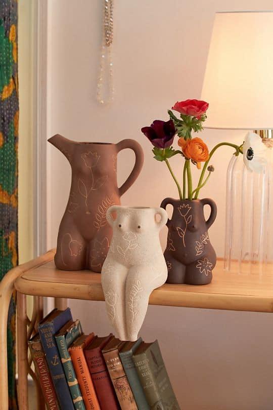 vase, vase decorating ideas, vases decor, vase filler ideas, DIY vase, flower vase, flower vases, ceramic vase, modern decor, bodice vase