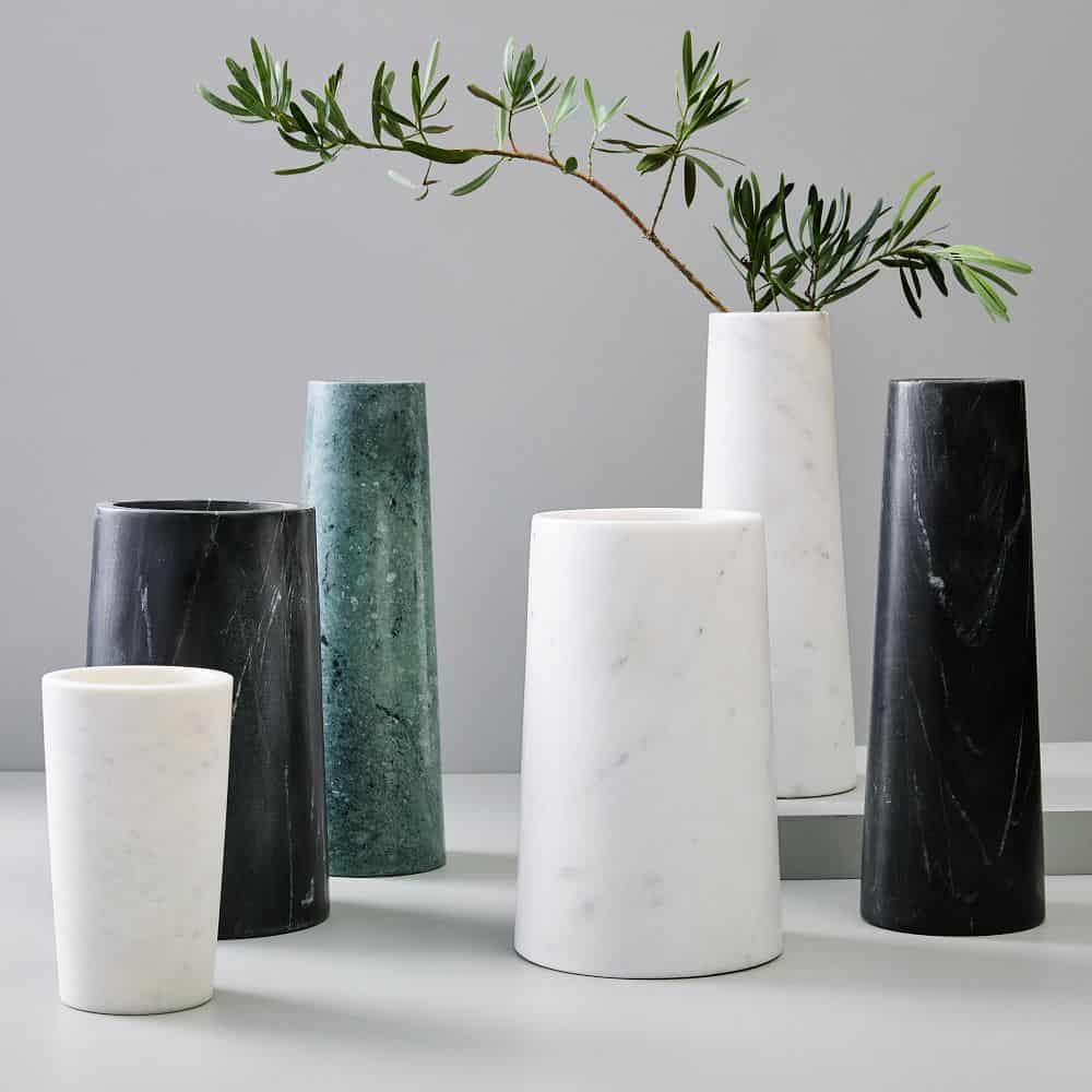 vase, vase decorating ideas, vases decor, vase filler ideas, DIY vase, flower vase, flower vases, ceramic vase, modern decor, marble vase