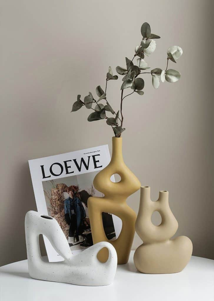 vase, vase decorating ideas, vases decor, vase filler ideas, nordic vase, DIY vase, flower vase, flower vases, ceramic vase, modern decor