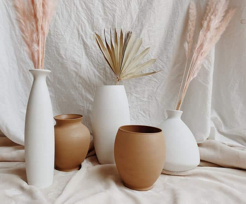 vase, vase decorating ideas, vases decor, vase filler ideas, DIY vase, flower vase, flower vases, ceramic vase, modern decor, neutral vase
