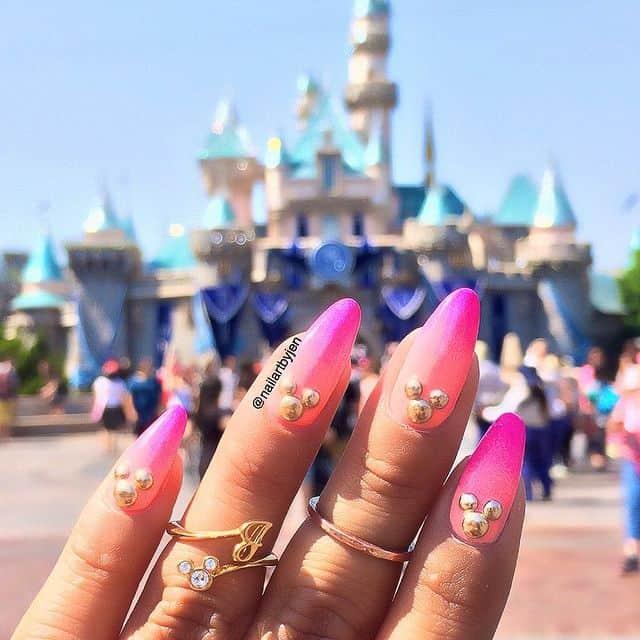Disney Nails, disney nail designs, Disney Nails simple, disney nail art, Disney Nails acrylic, disney nail ideas, Disney Nails easy, ombre nails