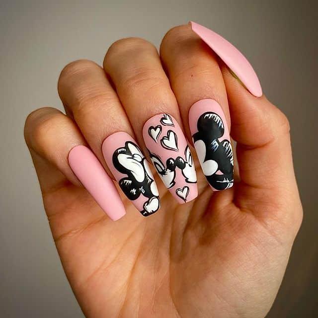 Disney Nails, disney nail designs, Disney Nails simple, disney nail art, Disney Nails acrylic, disney nail ideas, Disney Nails easy, Mickey Mouse nails, Mickey Mouse nail art