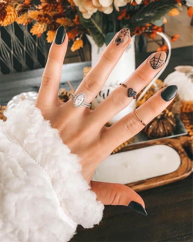 halloween nails, halloween nails acrylic, halloween nails ideas, halloween nails short, halloween nails simple, halloween nails easy, halloween nails 2021, halloween nails acrylic coffin, black nails, black nail art