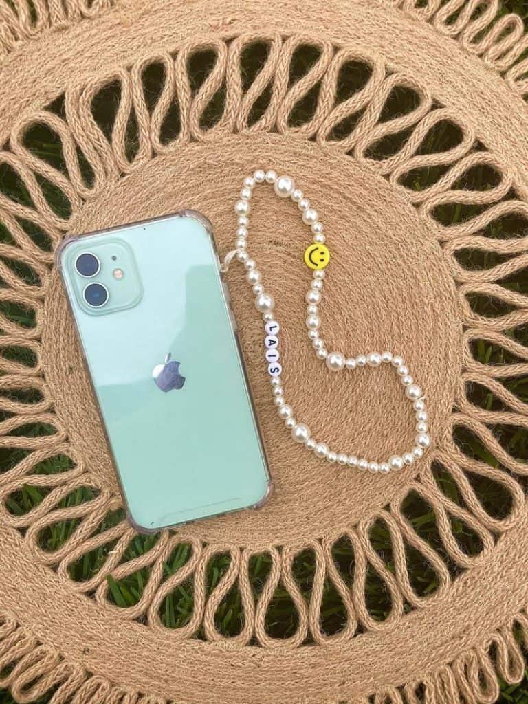 phone charm, phone charm DIY, phone charm aesthetic, phone charms beads, phone charm strap, phone charm ideas, 90s phone charm, YTK phone charm, phone chain, happy face phone charm, pearl phone charm
