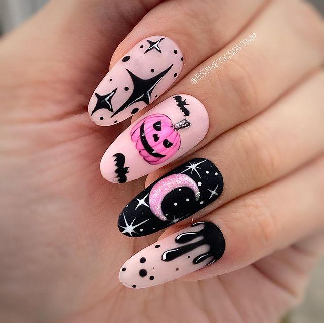 halloween nails, halloween nails acrylic, halloween nails ideas, halloween nails short, halloween nails simple, halloween nails easy, halloween nails 2021, halloween nails acrylic coffin