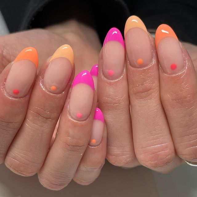 cute nails, cue nails acrylic, cute nails for summer, cute nail designs, cute nail ideas, cute nail art, bright nails, bright nail art, bright nail ideas