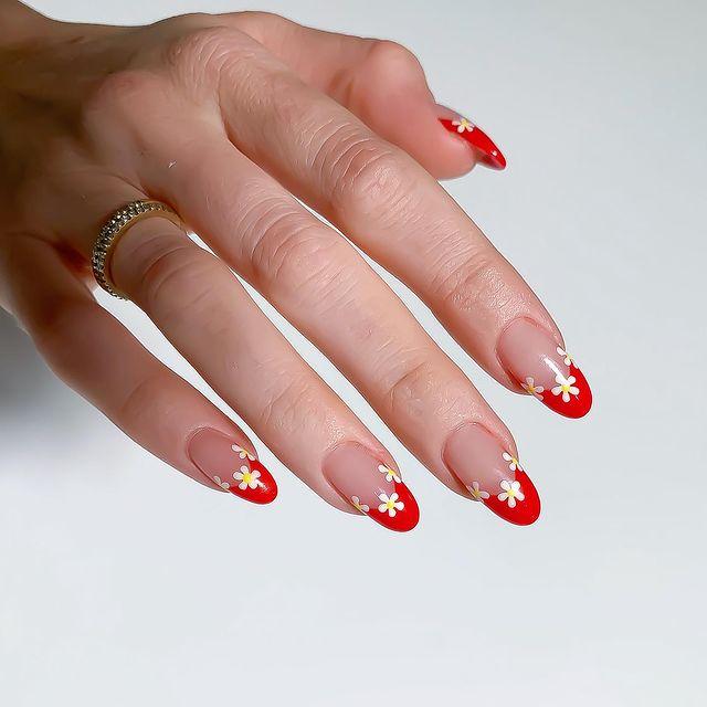 cute nails, cue nails acrylic, cute nails for summer, cute nail designs, cute nail ideas, cute nail art, floral nails, floral nail designs, floral nail art