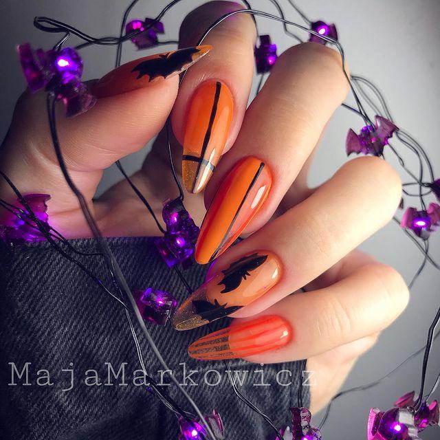 halloween nails, halloween nails acrylic, halloween nails ideas, halloween nails short, halloween nails simple, halloween nails easy, halloween nails 2021, halloween nails acrylic coffin, orange nails