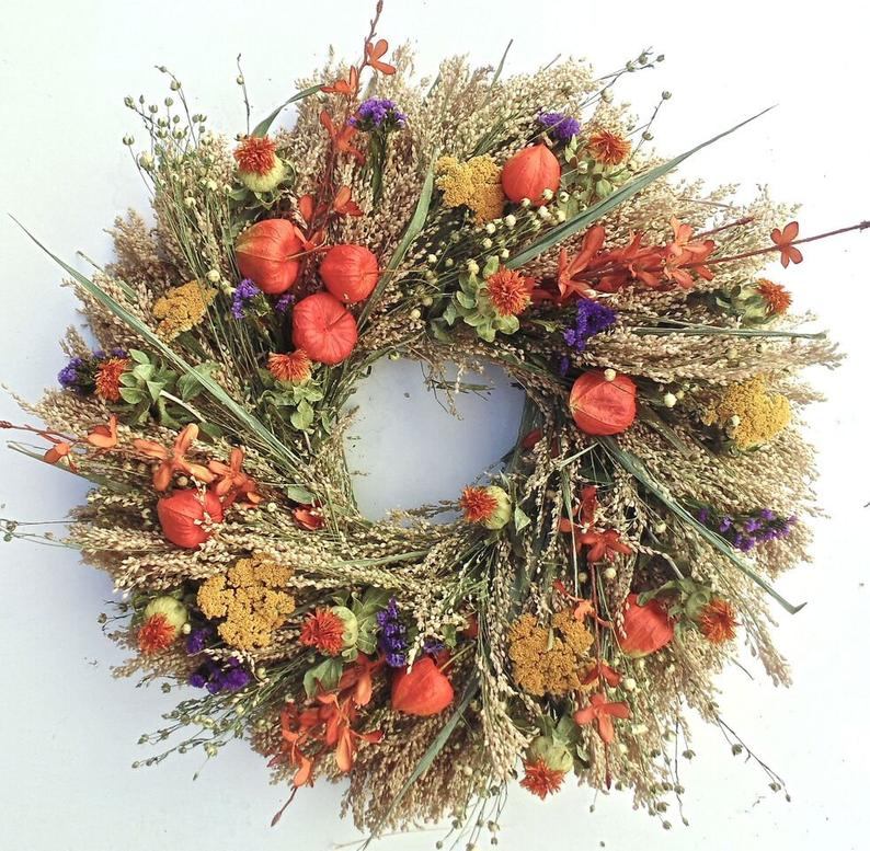 fall wreath, fall wreaths, fall wreaths for front door, fall wreath ideas DIY, fall wreath ideas, autumn wreaths, autumn wreath diy, autumn wreath or front door, fall garden wreath