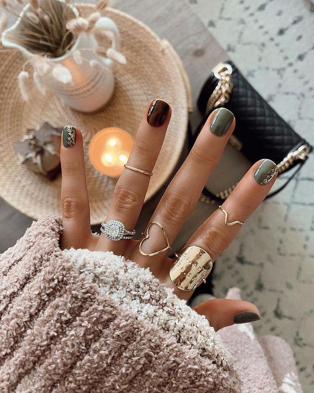 fall nails, fall nail designs, fall nails 2021, fall nail colors, fall nails acrylic, fall nails simple, fall nail art, fall nail ideas, simple fall nails, cute fall nails