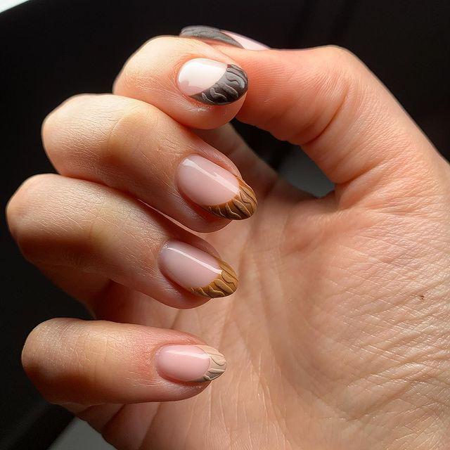 fall nails, fall nail designs, fall nails 2021, fall nail colors, fall nails acrylic, fall nails simple, fall nail art, fall nail ideas, simple fall nails, cute fall nails, ombre nail art, neutral nails, gradient nails