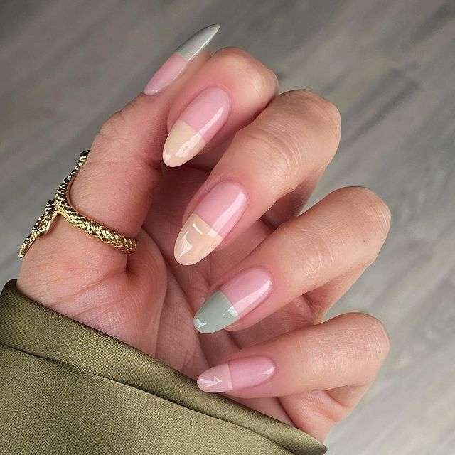 cute nails, cue nails acrylic, cute nails for summer, cute nail designs, cute nail ideas, cute nail art, neutral nails, neutral nail art, neutral nail ideas