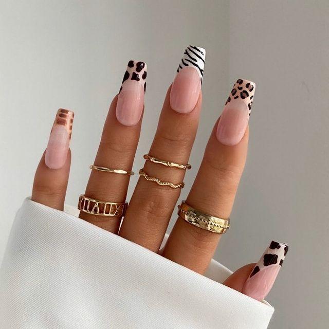 fall nails, fall nail designs, fall nails 2021, fall nail colors, fall nails acrylic, fall nails simple, fall nail art, fall nail ideas, simple fall nails, cute fall nails, animal print nails