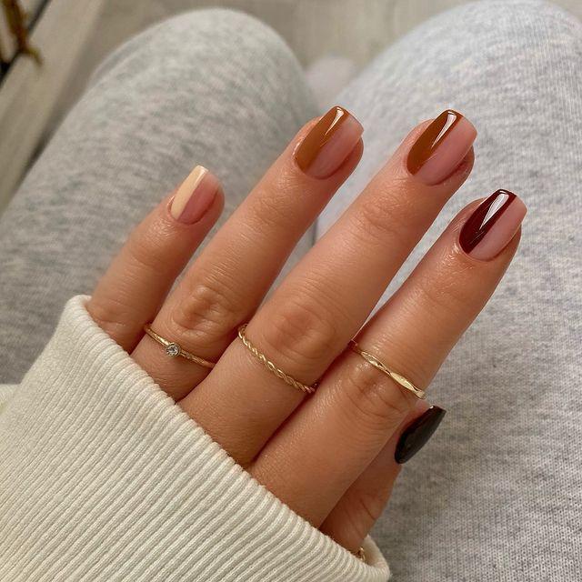 cute nails, cue nails acrylic, cute nails for summer, cute nail designs, cute nail ideas, cute nail art, neutral nails, neutral nail ideas, ombre nails, fall nails