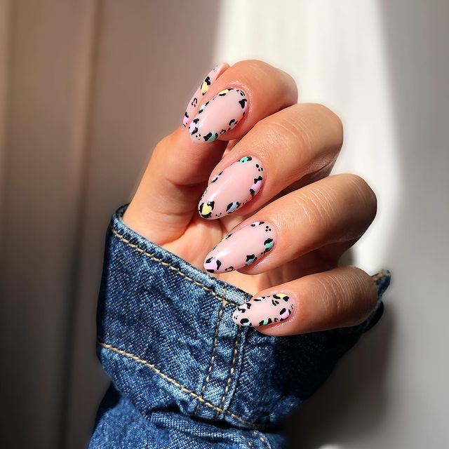 cute nails, cue nails acrylic, cute nails for summer, cute nail designs, cute nail ideas, cute nail art, leopard nails, leopard nail ideas, leopard nail designs