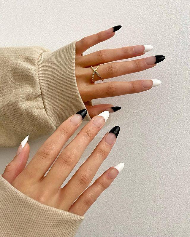 fall nails, fall nail designs, fall nails 2021, fall nail colors, fall nails acrylic, fall nails simple, fall nail art, fall nail ideas, simple fall nails, cute fall nails, white and black nails