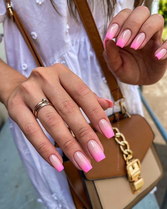 cute nails, cue nails acrylic, cute nails for summer, cute nail designs, cute nail ideas, cute nail art, pink nails, pink nail art, pink nail ideas, ombre nails