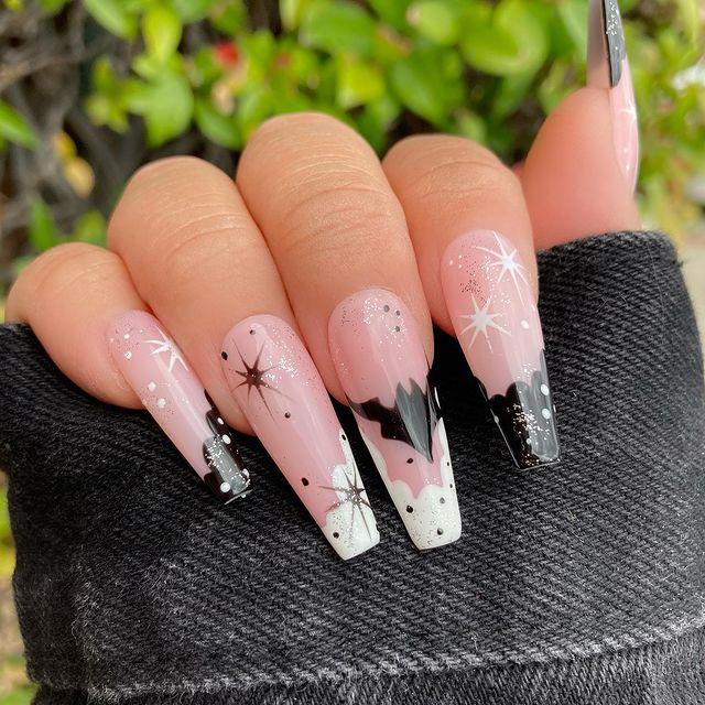 halloween nails, halloween nails acrylic, halloween nails ideas, halloween nails short, halloween nails simple, halloween nails easy, halloween nails 2021, halloween nails acrylic coffin, bat nails