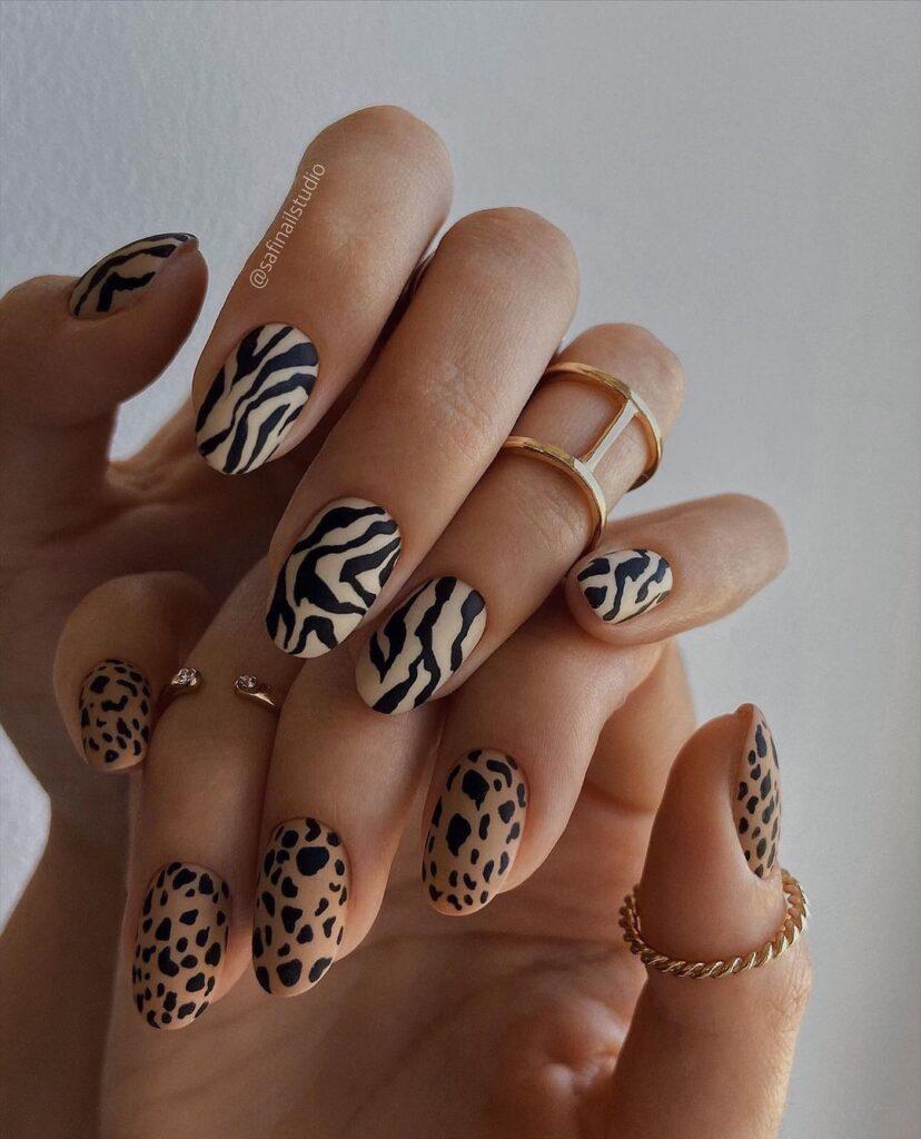fall nails, fall nail designs, fall nails 2021, fall nail colors, fall nails acrylic, fall nails simple, fall nail art, fall nail ideas, simple fall nails, cute fall nails, animal print nails, animal print nail ideas