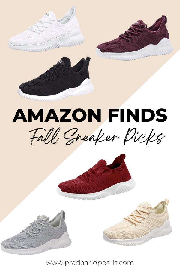 amazon finds, amazon must haves, amazon sneakers, everyday sneakers for women, amazon must haves tik Tok, amazon fashion, amazon sneakers