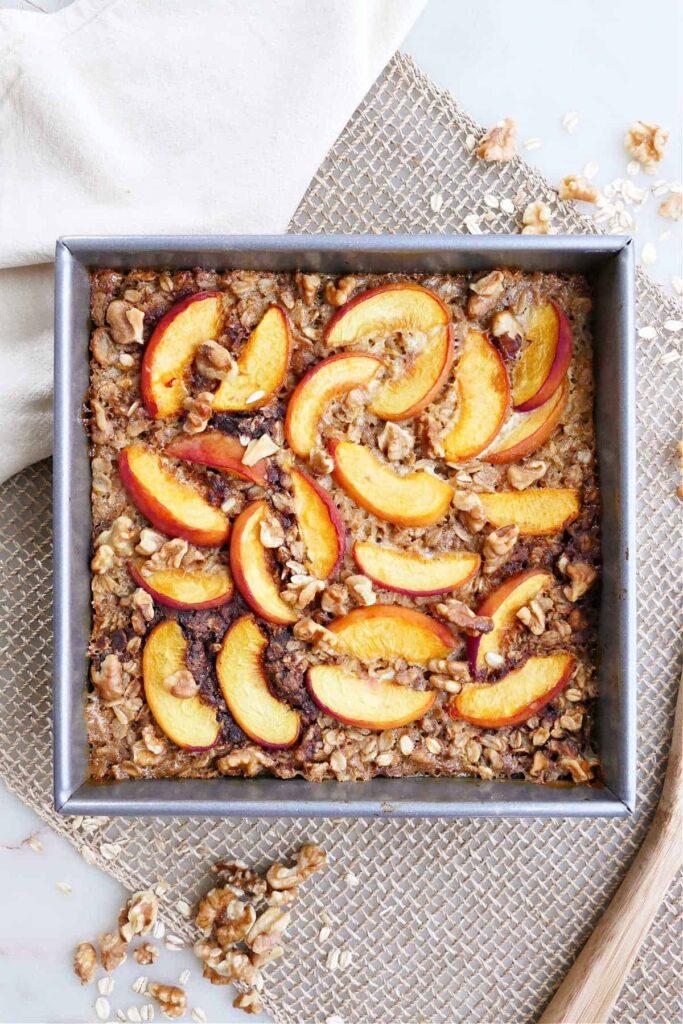 peach recipe, peach recipes, peach recipes healthy, peach recipe easy, peach recipes breakfast, peach breakfast recipes, peach breakfast, peach oatmeal recipe, oatmeal recipe