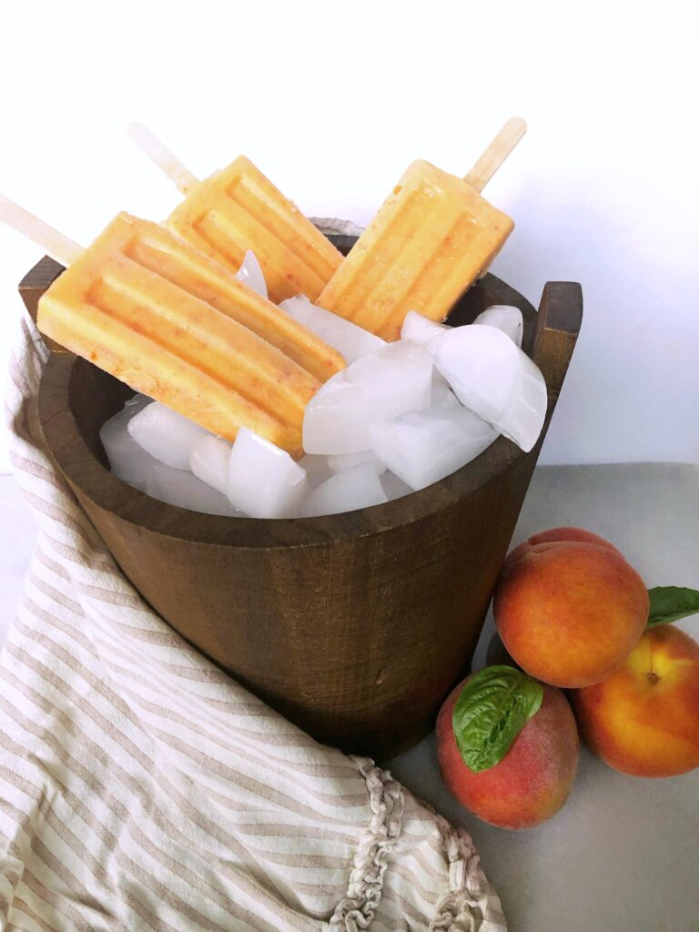peach recipe, peach recipes, peach recipes healthy, peach recipe easy, peach popsicle recipe