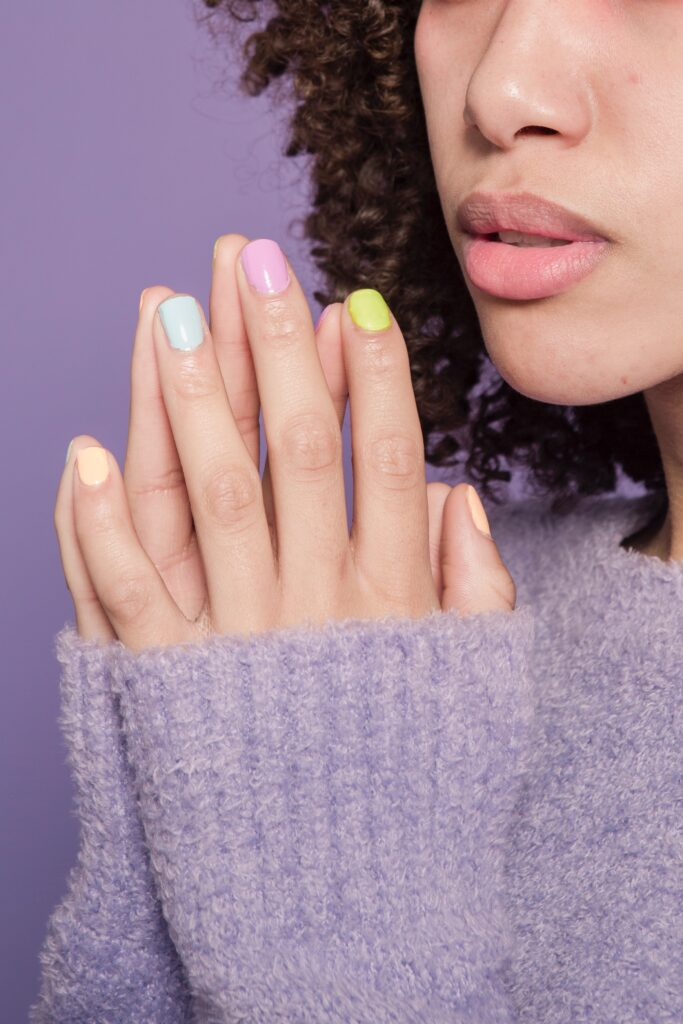 pastels, pastel nails, how to wear pastels