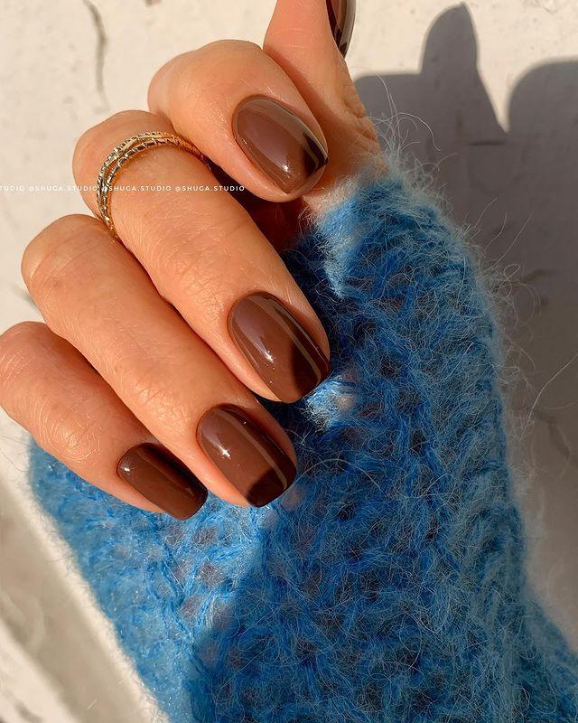 brown nails, brown nails acrylic, brown nails design, brown nails ideas, brown nails aesthetic, brown nails short, brown nails acrylic almond, brown nails acrylic coffin, easy brown nails, simple brown nails, trendy brown nails, chocolate nails, mocha nails