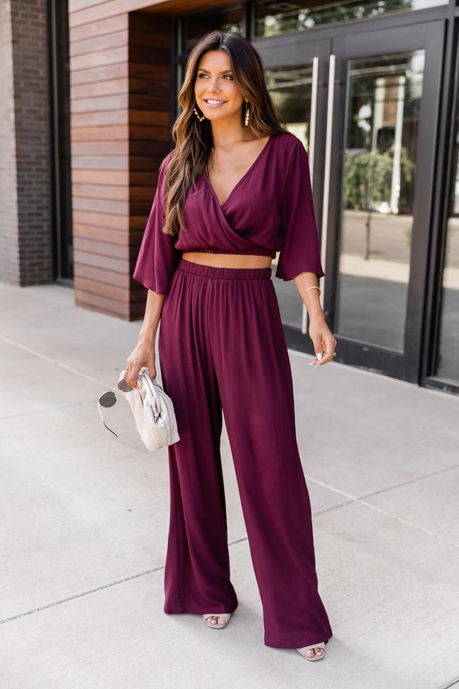 fall outfit idea, fall outfit ideas, fall outfits, fall outfits 2021, fall outfits women, fall outfits aesthetic, fall outfit inspiration, fall outfits for school, cute fall outfits, two piece outfit, burgundy outfit