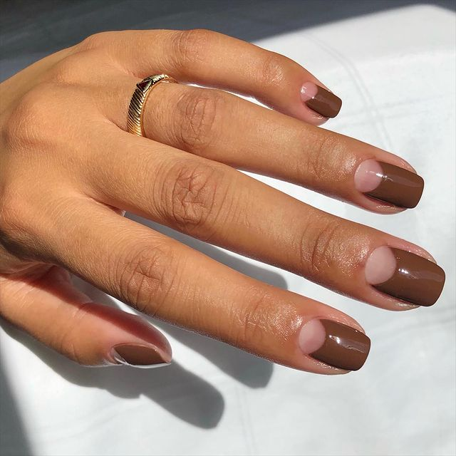 brown nails, brown nails acrylic, brown nails design, brown nails ideas, brown nails aesthetic, brown nails short, brown nails acrylic almond, brown nails acrylic coffin, easy brown nails, simple brown nails, trendy brown nails, mocha nails