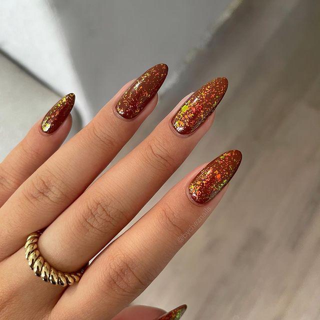 brown nails, brown nails acrylic, brown nails design, brown nails ideas, brown nails aesthetic, brown nails short, brown nails acrylic almond, brown nails acrylic coffin, easy brown nails, simple brown nails, trendy brown nails, glitter nails