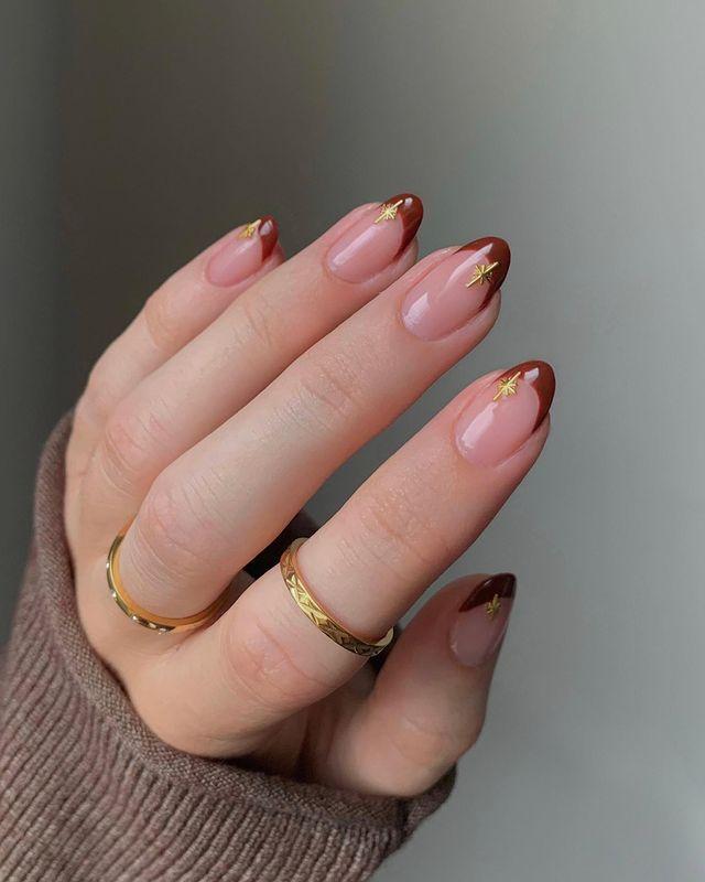 brown nails, brown nails acrylic, brown nails design, brown nails ideas, brown nails aesthetic, brown nails short, brown nails acrylic almond, brown nails acrylic coffin, easy brown nails, simple brown nails, trendy brown nails, French tip nails, French tip nail designs, French tip nail ideas