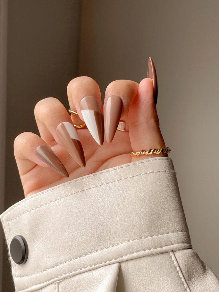 brown nails, brown nails acrylic, brown nails design, brown nails ideas, brown nails aesthetic, brown nails short, brown nails acrylic almond, brown nails acrylic coffin, easy brown nails, simple brown nails, trendy brown nails, brown press on nails